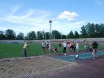 Первенство области среди студентов ВУЗов по лёгкой атлетике